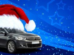 Alquilar un coche en Navidad