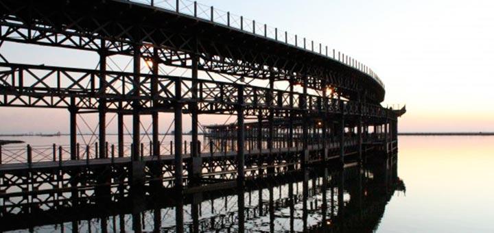 Muelle del Río Tinto Huelva