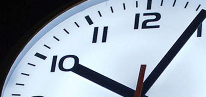 Reloj del metro